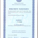 Patent - kaseta filtrująca