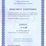 Patent na kosz filtrujący