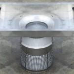 Kosz filtrujący Ecobark drain