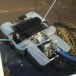 Skimmer połączony z pompą pneumatyczną z pływakami