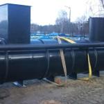 Separator oleju z wkładem kasetowym